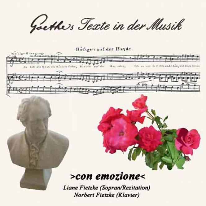 Goethetexte in der Musik