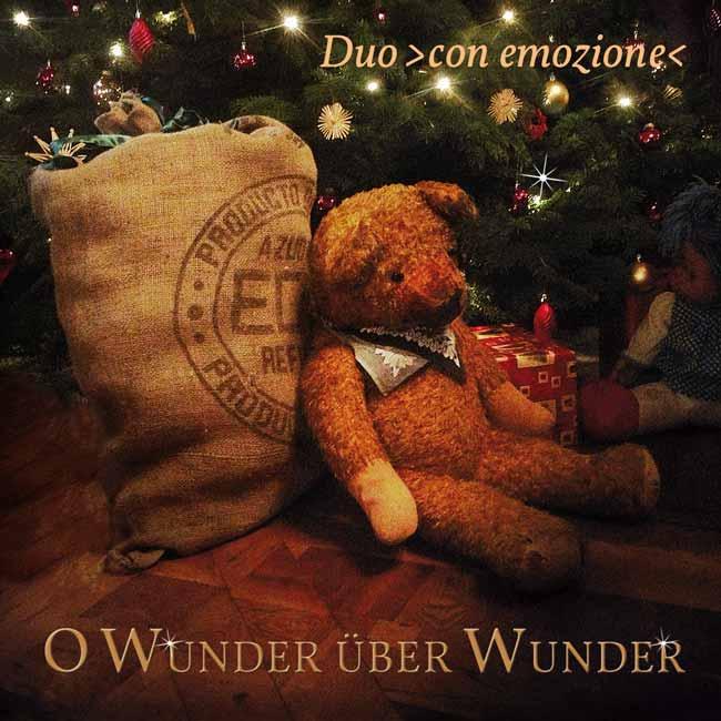 CD - Weihnacht - O Wunder über Wunder - Duo ›con emozione‹