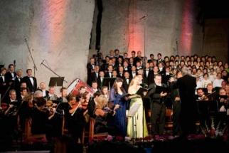 Liane in Sopron - Während der Aufführung