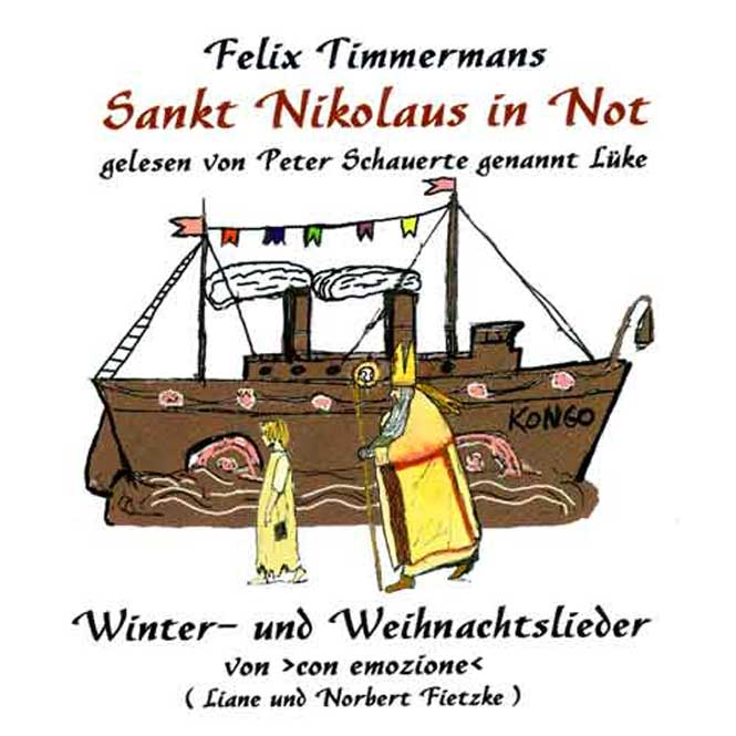 CD - Sankt Nikolaus in Not - Timmermanns