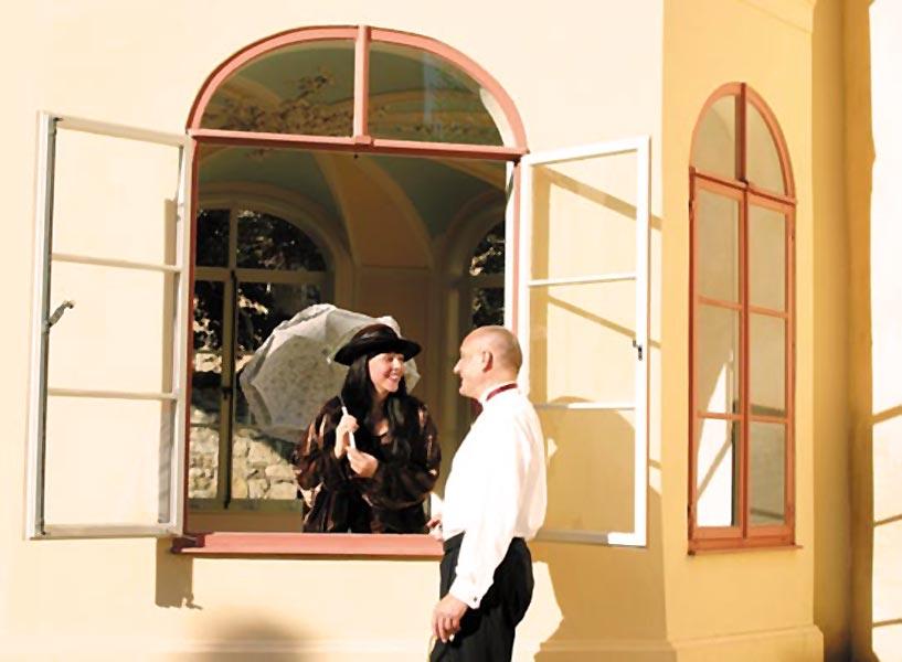 Duo ›con emozione‹ am Palais Schardt