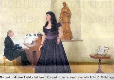 con emozione in der Kapelle - Presse Heiligenstadt