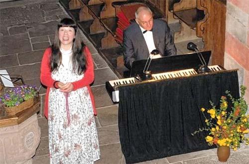 Romantische Töne in der Wehrkirche Urphar 2 - Duo ›con emozione‹