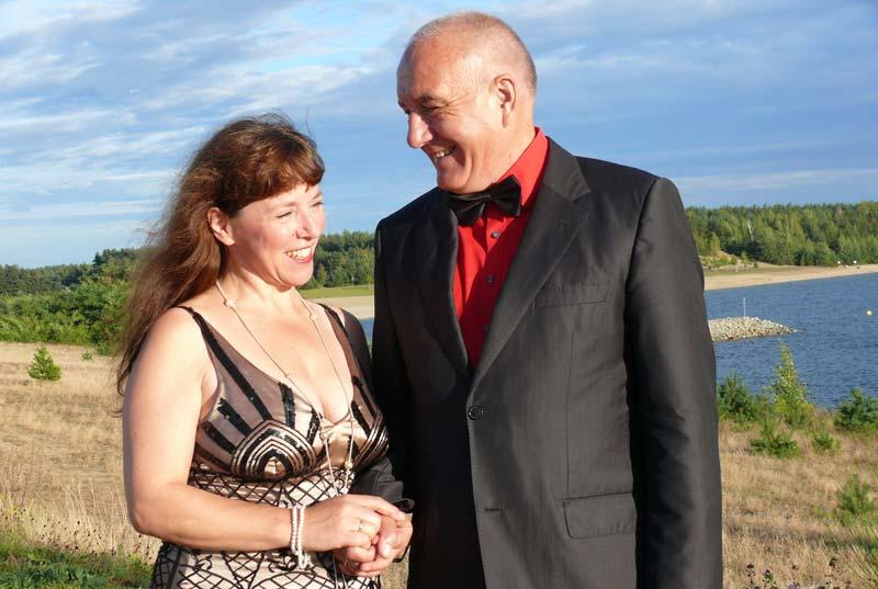 Duo ›con emozione‹ - Auf dem Wasser zu singen am Bärwalder See